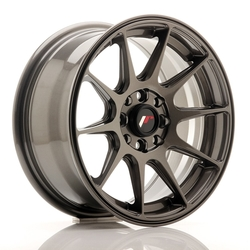 Japan Racing JR11 15x7 ET30 4x100/114 Hyper Gray