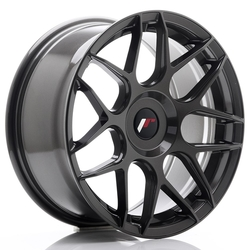 JR Wheels JR18 17x8 ET35 BLANK Hyper Gray