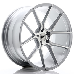 JR Wheels JR30 20x10 ET40 5x120 Silver Machined Face<br/>