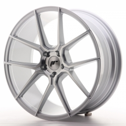Japan Racing JR30 20x8,5 ET30 5x120 Silver Machine