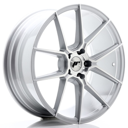 JR Wheels JR30 20x8,5 ET35 5x120 Silver Machined Face<br/>