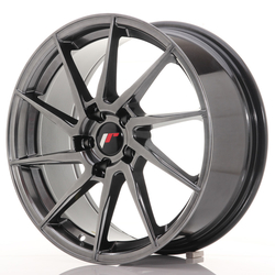 Japan Racing JR36 18x8 ET35 5x120 Hyper Black