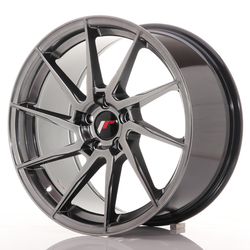 Japan Racing JR36 18x9 ET35 5x120 Hyper Black